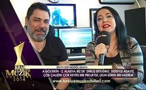 Kral Müzik Ödülleri 2014 Adayları - A. Göltekin - Z. Alasya