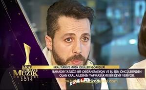 Kral Müzik Ödülleri 2014 Adayları - Bahadır Tatlıöz
