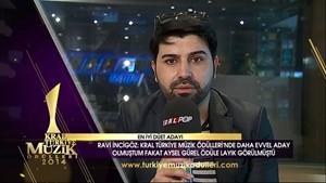Kral Müzik Ödülleri 2014 Adayları - Ravi İncigöz