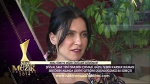 Kral Müzik Ödülleri 2014 Adayları - Şevval Sam